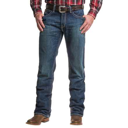 Ariat M4 Backlash Jeans - Low Rise, Bootcut (For Men) in Mississippi - Closeouts