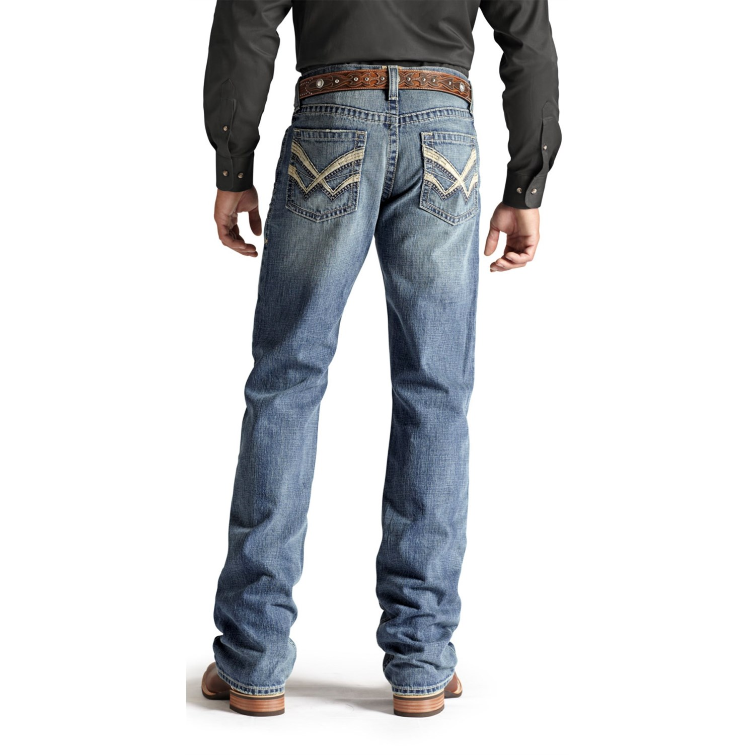 Ariat M4 Checkmate Denim Jeans (For Men) 7709A - Save 31% - photo#9