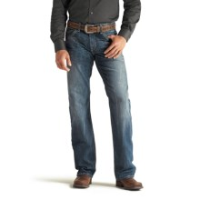 Ariat M4 Cliffhanger Tornado Jeans - Low Rise, Bootcut (For Men) in Medium Wash - Closeouts
