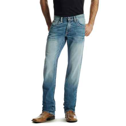 Ariat M5 Lefty Jeans - Low Rise, Straight Leg (For Men) in Ashwood Denim - Closeouts