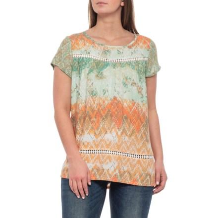 f536066bc74 Ariat Nikki Shirt - Short Sleeve (For Women) in Nikki Print - Closeouts