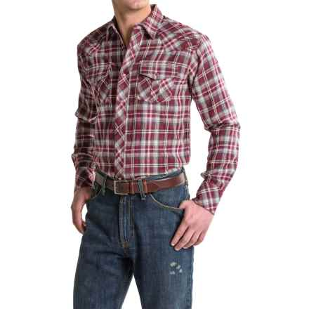 Ariat Norris Plaid Shirt - Snap Front, Long Sleeve (For Men) in Multi - Closeouts
