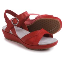 Ariat Out and About Sandals - Leather (For Women) in Chili Red - Closeouts