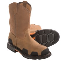 Ariat OverDrive Western Work Boots - Waterproof (For Men) in Dusted Brown - Closeouts
