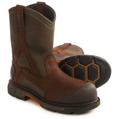 Ariat OverDrive XTR H20 CT Work Boots Waterproof, Composite Toe (For Men)