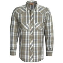 Ariat Pace Plaid Snap Front Shirt - Long Sleeve (For Men) in Multi - Closeouts