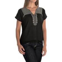 Ariat Paley Shirt - Short Sleeve (For Women) in Black - Closeouts