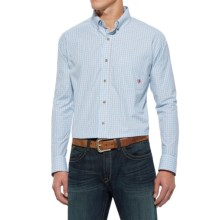 Ariat Phoenix High-Performance Shirt - Long Sleeve(For Men and Big Men) in Robins Egg Blue - Closeouts