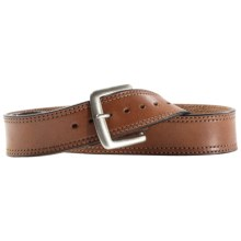 Ariat Piston Belt - Leather (For Men) in Desert Brown - Closeouts