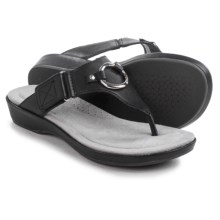 Ariat Poolside Sandals - Leather (For Women) in Black - Closeouts