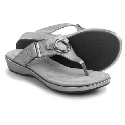 Ariat Poolside Sandals - Leather (For Women) in Warm Stone - Closeouts