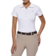 Ariat Prix Polo Shirt - Short Sleeve (For Women) in White - Closeouts