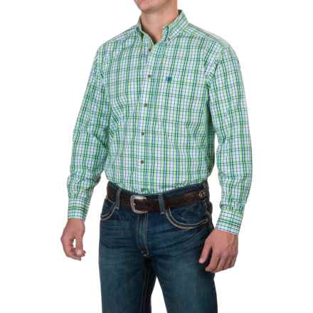 Ariat Pro Series Bradley Plaid Shirt - Button Front, Long Sleeve (For Men) in Multi - Closeouts