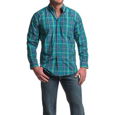 Ariat Pro Series Lucas Shirt - Button Front, Long Sleeve (For Men) in Teal - Closeouts