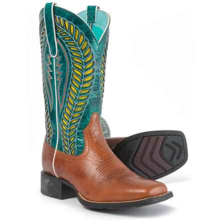 "Ariat Quickdraw VentTEK Cowboy Boots - 12"", Square Toe (For Women) in"