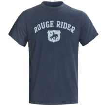 Ariat Rider T-Shirt - Short Sleeve (For Men) in Navy - Closeouts