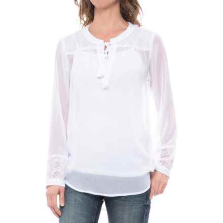 Ariat Romany Shirt - Long Sleeve (For Women) in White - Closeouts