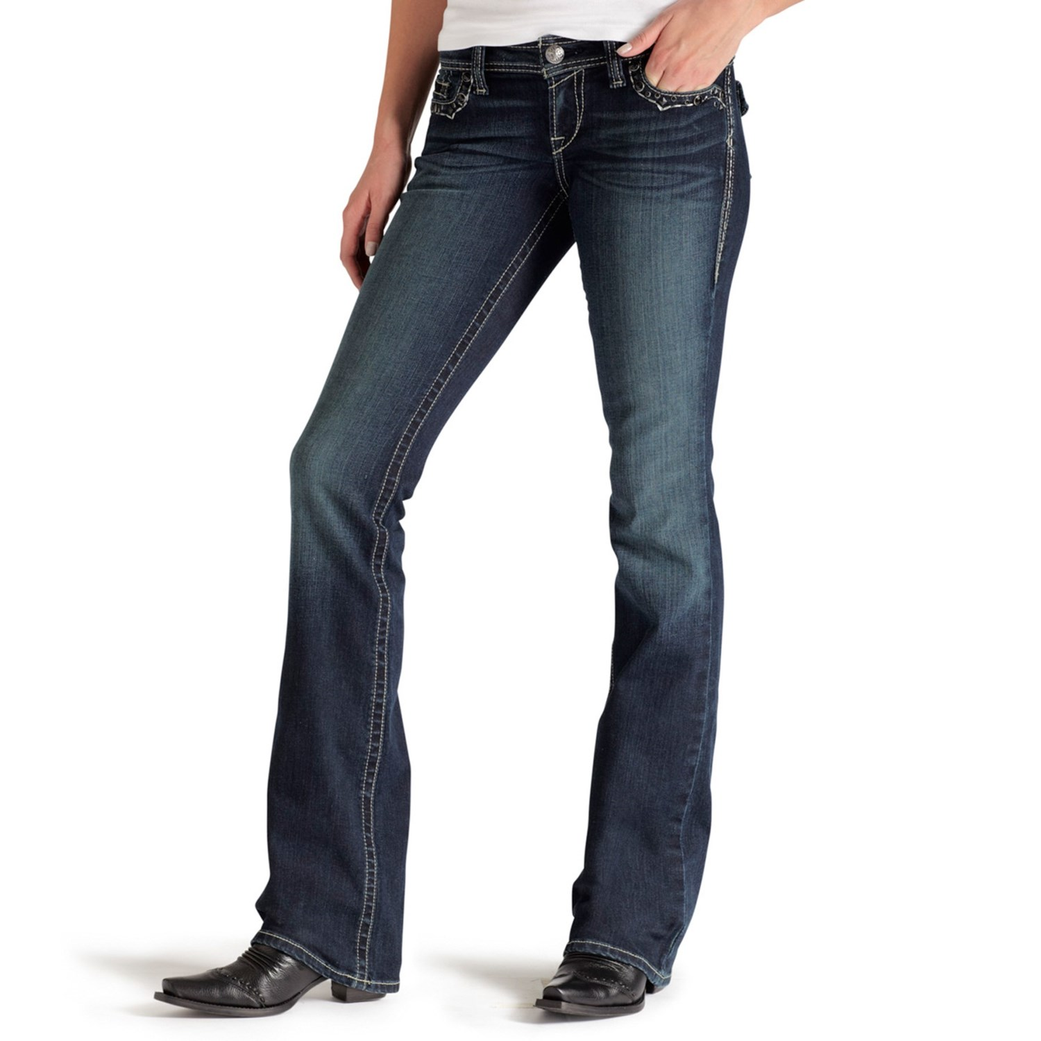 Low Rise Low Rise Bootcut Jean Ariat Ruby Sonora Jeans For Women Save 64 7574d 4 Wrangler