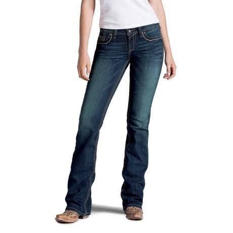 Ariat Ruby Runaway Jeans Bootcut, Low Rise (For Women)
