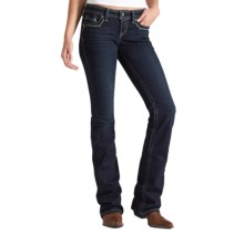 Ariat Ruby Sunset Jeans - Low Rise, Bootcut (For Women) in Big Sky - Closeouts