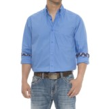 Ariat Solid Poplin Shirt - Long Sleeve (For Men)