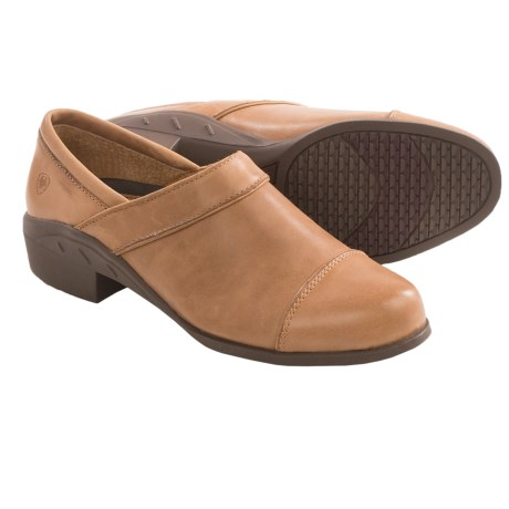 Ariat Sport Clogs - Leather (For Women) in Tan