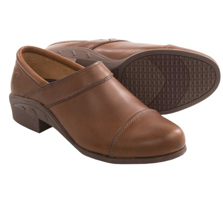 Ariat Sport Clogs - Leather (For Women) in Timber