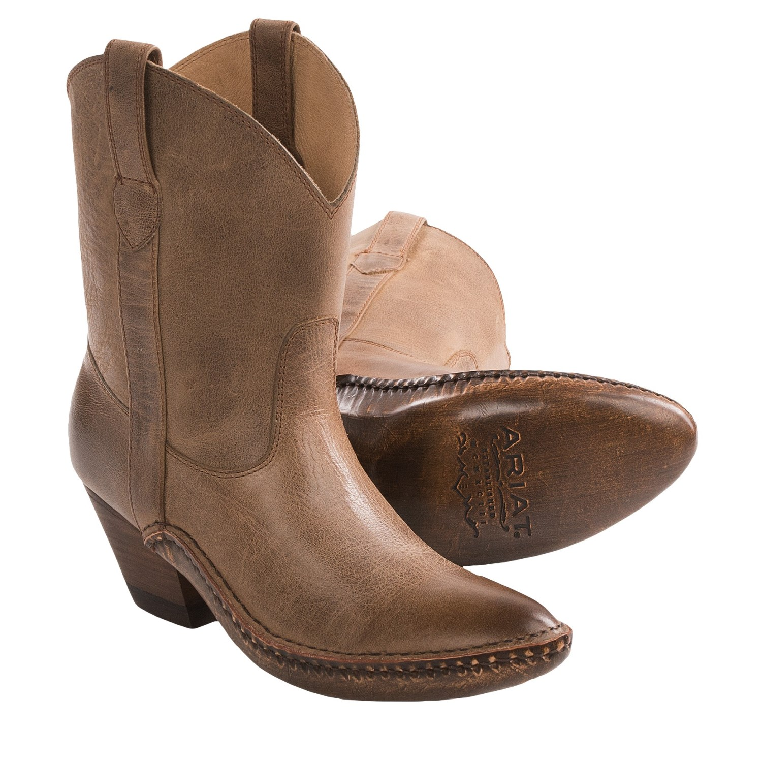 Womens Leather Boots Clearance 39