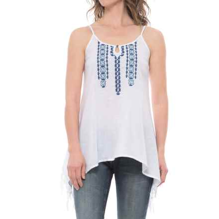 Ariat Statement Tank Top (For Women) in White - Closeouts