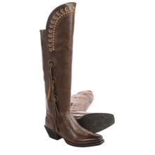 """Ariat Tallulah Tall Cowboy Boots - Leather, 20"""" (For Women) in Brush Country Brown - Closeouts"""