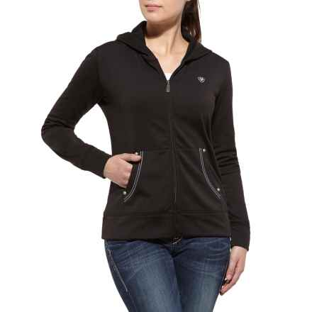 Ariat Tek Fleece Jacket (For Women) in Black - Closeouts