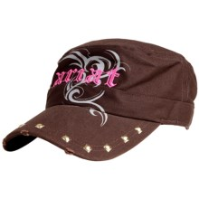 Ariat Tribal Logo Cap (For Women) in Brown - Closeouts