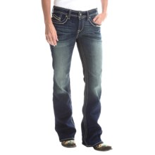 Ariat Turquoise Santa Fe Jeans - Mid Rise, Bootcut (For Women) in Loveless - Closeouts