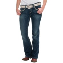 Ariat Turquoise Silversmith Jeans - Bootcut, Mid Rise (For Women) in Delta - Closeouts