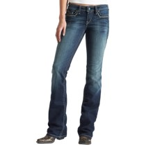 Ariat Turquoise Sunset Jeans - Mid Rise, Bootcut (For Women) in Spitfire - Closeouts
