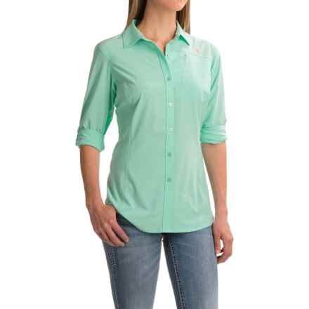 Ariat VentTEK Perf Shirt - Long Sleeve (For Women) in Stillwater - Closeouts