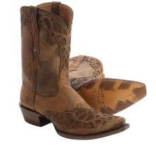 Ariat Vera Cruz Cowboy Boots - Leather, Snip Toe (For Women) in Weathered Brown - Closeouts