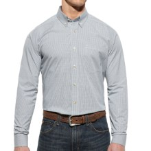 Ariat Washoes High-Performance Shirt - Button Front, Long Sleeve (For Men) in White - Closeouts