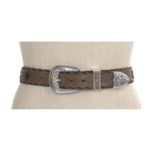 Ariat Western Star Belt - Distressed Leather (For Women) in Brown - Closeouts
