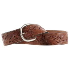Ariat Weston Belt - Leather (For Men) in Antique Brown - Closeouts