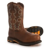 """Ariat WorkHog Cowboy Work Boots - Composite Safety Toe, 11"""" (For Women)"""