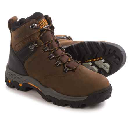 "Ariat WorkHog Trek 6"" Work Boots - Waterproof (For Men) in Distressed Brown - Closeouts"