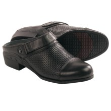 Ariat Woven Sport Mule Shoes - Leather (For Women) in Black Woven - Closeouts