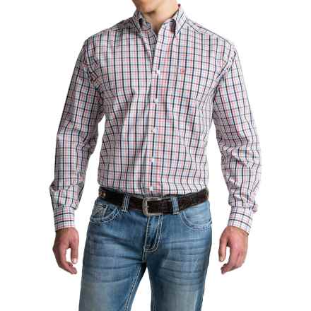 Ariat Wrinkle-Free Vallen Shirt - Button Front, Long Sleeve (For Men) in Multi - Closeouts