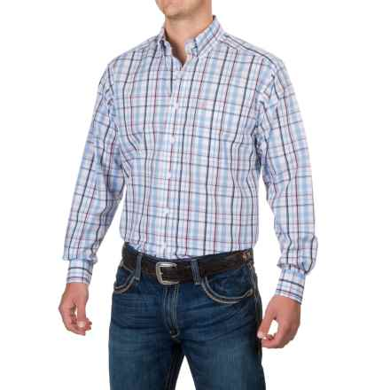 Ariat Wrinkle-Free Vance Shirt - Long Sleeve (For Men) in White - Closeouts