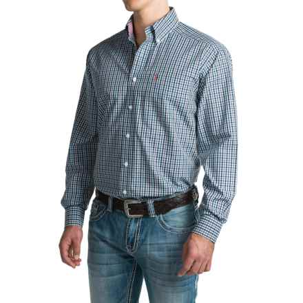 Ariat Wrinkle-Free Vaughn Shirt - Button Front, Long Sleeve (For Men) in Multi - Closeouts