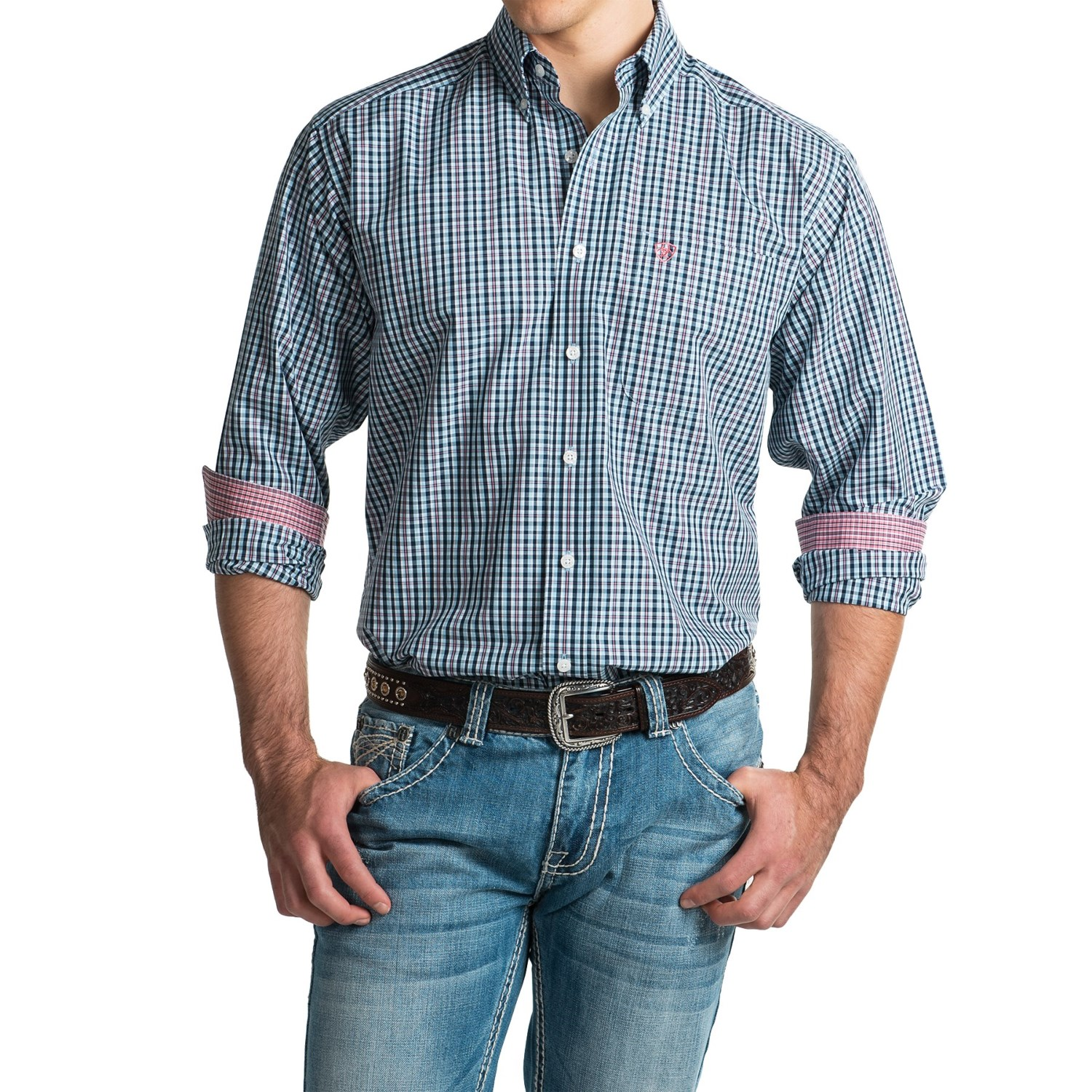 Ariat Wrinkle Free Vaughn Shirt For Men Save 53