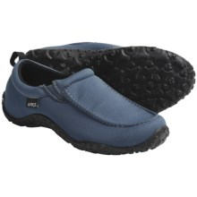 Arks Outdoors NECOprene Camp Moc Shoes - Neoprene, Slip-Ons (For Women) in Pewter - Closeouts
