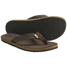 Arks Outdoors NECOprene Thong Sandals - Neoprene (For Men) in Taupe - Closeouts