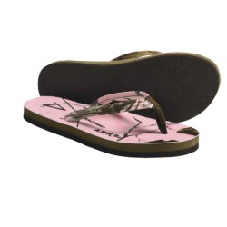 Arks Outdoors Realtree® AP Pink Thong Sandals - Neoprene (For Women) in Ap Pink